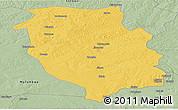 Savanna Style Panoramic Map of Kasempa