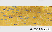 Physical Panoramic Map of North Western