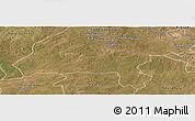 Satellite Panoramic Map of Solwezi