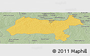 Savanna Style Panoramic Map of Solwezi