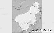 Gray 3D Map of Chinsali