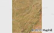 Satellite 3D Map of Chinsali