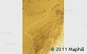 Physical Map of Chinsali