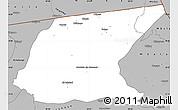 Gray Simple Map of Kaputa
