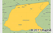 Savanna Style Simple Map of Kaputa