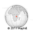 Outline Map of Mbala