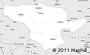 Silver Style Simple Map of Mporokoso