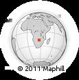 Outline Map of Livingstone