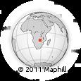Outline Map of Mazabuka