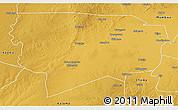 Physical 3D Map of Namwala