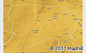 Physical Map of Namwala