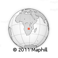 Outline Map of Namwala