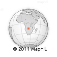 Outline Map of Kalabo