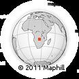 Outline Map of Kaoma