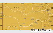 Physical Map of Lukulu