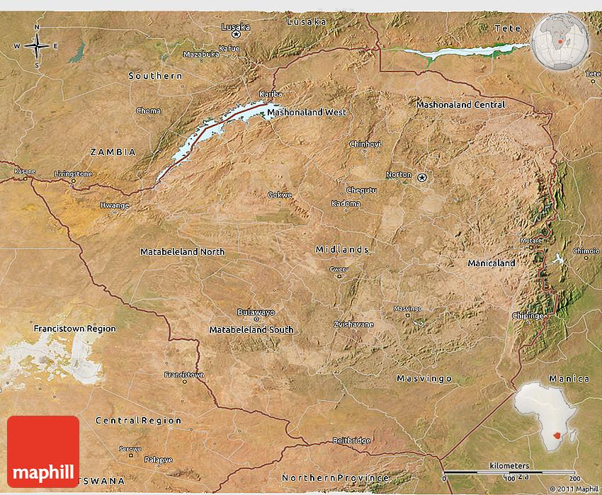 Satellite 3d map of zimbabwe 2d gumiabroncs Images