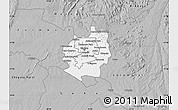 Gray Map of Harare rural