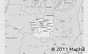 Silver Style Map of Harare rural