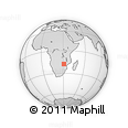 Outline Map of Harare