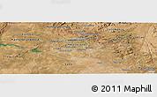 Satellite Panoramic Map of Harare