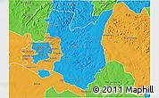 Political 3D Map of Goromonzi