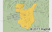 Savanna Style 3D Map of Goromonzi