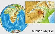 Physical Location Map of Goromonzi