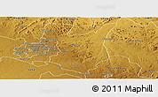 Physical Panoramic Map of Goromonzi