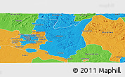 Political Panoramic Map of Goromonzi