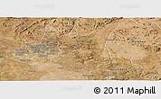 Satellite Panoramic Map of Goromonzi