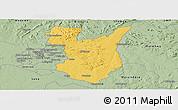 Savanna Style Panoramic Map of Goromonzi