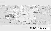 Silver Style Panoramic Map of Goromonzi