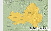 Savanna Style 3D Map of Marondera