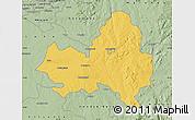 Savanna Style Map of Marondera