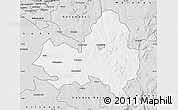 Silver Style Map of Marondera