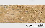 Satellite Panoramic Map of Marondera