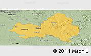 Savanna Style Panoramic Map of Marondera