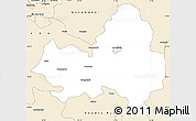 Classic Style Simple Map of Marondera