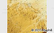 Physical Map of Mutoko