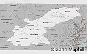 Gray Panoramic Map of Mashonaland East