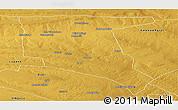 Physical Panoramic Map of Nkayi