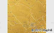 Physical Map of Umguza