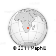Outline Map of Matabeleland South