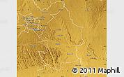 Physical Map of Umzingwane