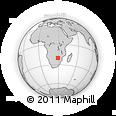 Outline Map of Umzingwane