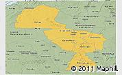 Savanna Style Panoramic Map of Midlands